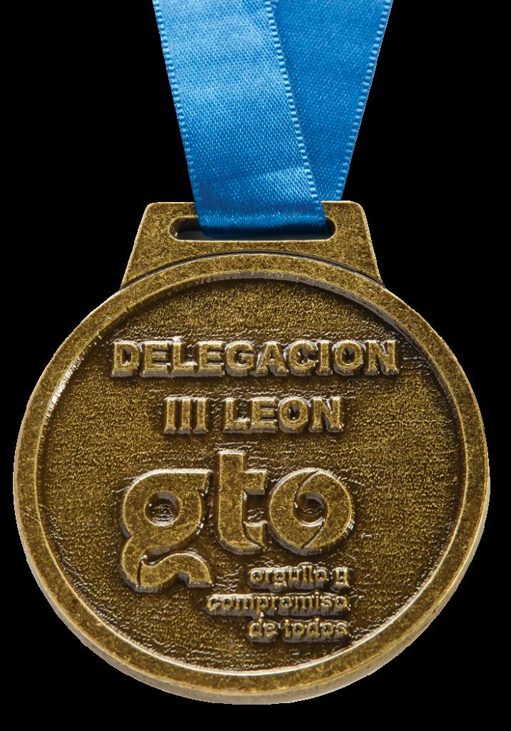Medalla Guanajuato Oro